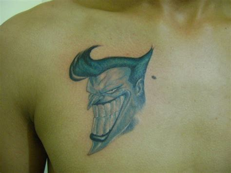 chest tattoo book big teeth joker face tattoo on chest tattoos book 65