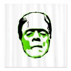 bride of frankenstein shower curtain 103 best images about shower curtains on pinterest