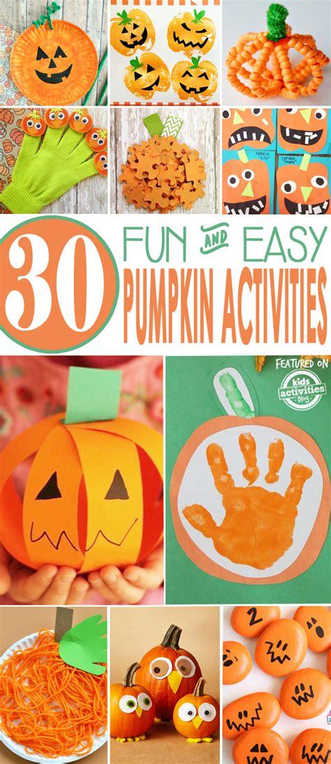 pumpkin activities 30 easy pumpkin activities
