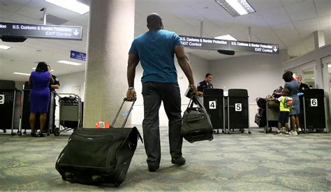 international passengers move faster through fort lauderdale airport orlando sentinel