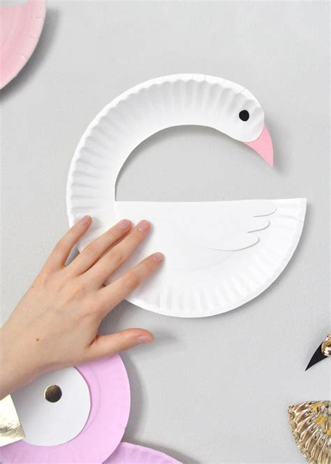 Craft Paper Bird - paper plate birds diy paper bird and craft