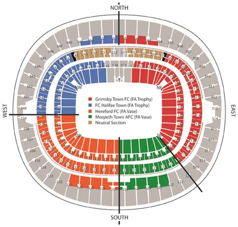 wembley seat finder tickets update wembley seating plan hereford fc the