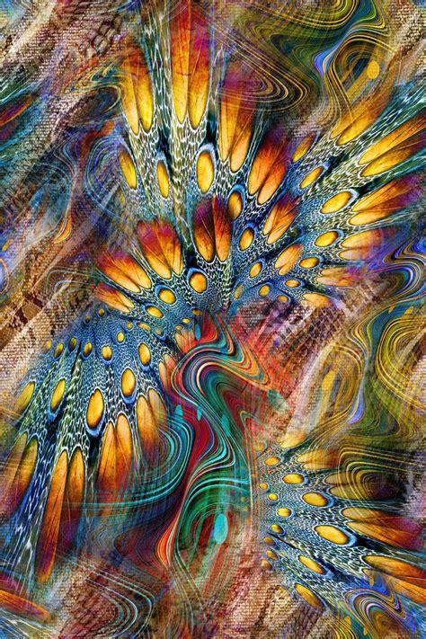 digital print natural feather collage joy design studio