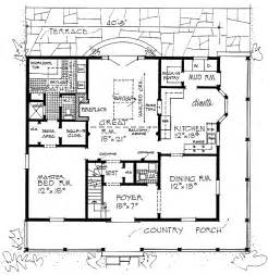 wrap around porch floor plans southern house plans with wrap around porches