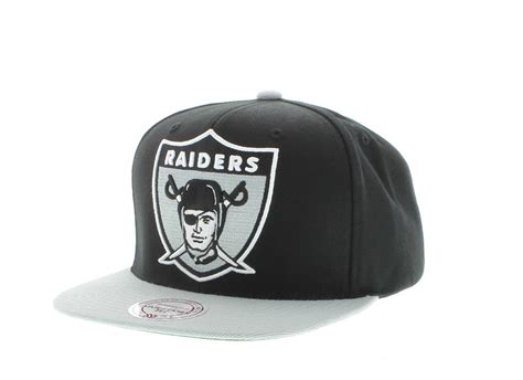 oakland raiders the xl logo snapback team colors by