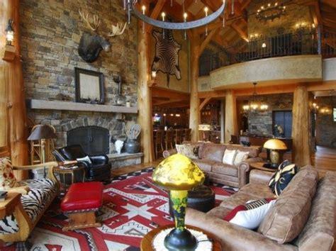 Lodge Style Home Decor by Ski Lodge Lounge Room Panda S House