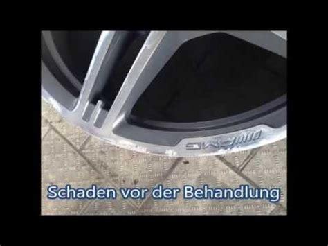 Felgen Lackieren Tutorial by Alufelgenreparatur Augsburg Lackieren Pulvern