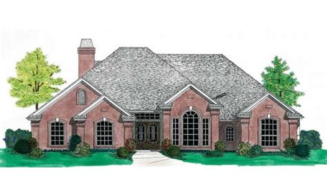 country plans french country house plans one story country cottage house
