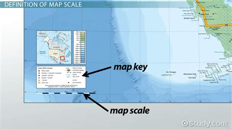 what is a map scale map scale definition map2