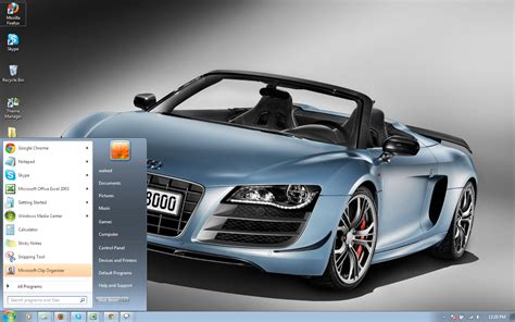 theme for windows 7 audi audi r8 gt spyder windows 7 theme by windowsthemes on