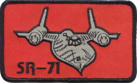 Bomber Patch Sr Sr 71 Aircraft Patches