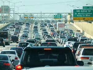 Miami Traffic Map by File Miami Traffic Jam I 95 North Rush Hour Jpg