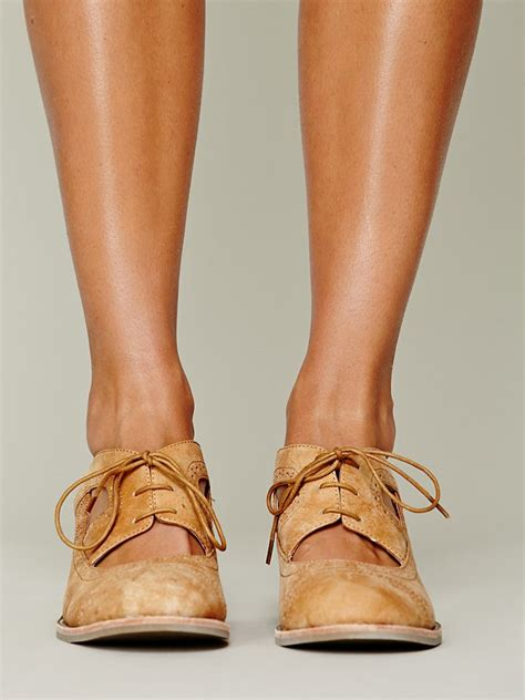 Flat Shoes Tm 07 Suede lyst jeffrey cbell gatsby oxford in brown