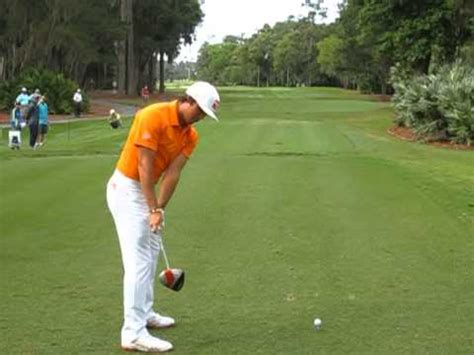 rickie fowler swing slow motion rickie fowler driver swing dtl the players 2 youtube
