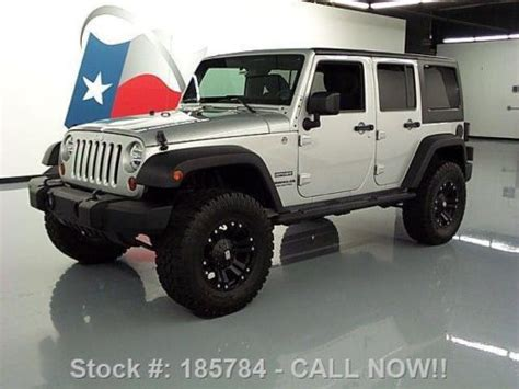 Lifted Jeeps For Sale In Michigan Buy Used 2012 Jeep Wrangler Sport 4x4 4dr Hardtop Lifted