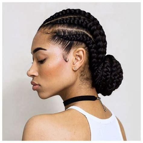 plaitted african caribbean hair penteados para cabelos cacheados e crespos