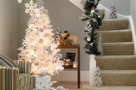 193 rbol de navidad blanco c 243 mo decorarlo para que sea