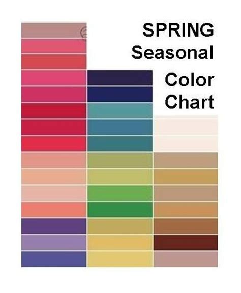 spring colors palette my color me beautiful season my style pinterest