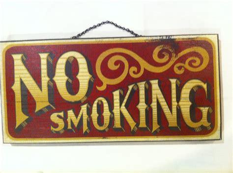 no smoking sign vintage reserved vintage no smoking wooden sign