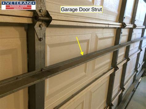 garage door struts what is considered a standard garage door