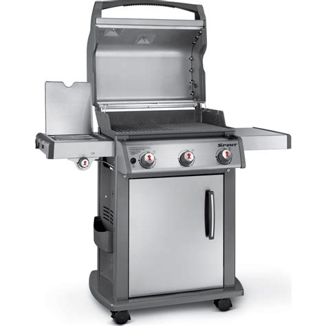 46700401 weber spirit sp 320 gas grill stainless steel propane
