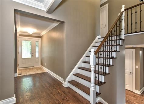 side split house renovations opened stairway renovated 4 level side split photo curtesy barbarabeers com