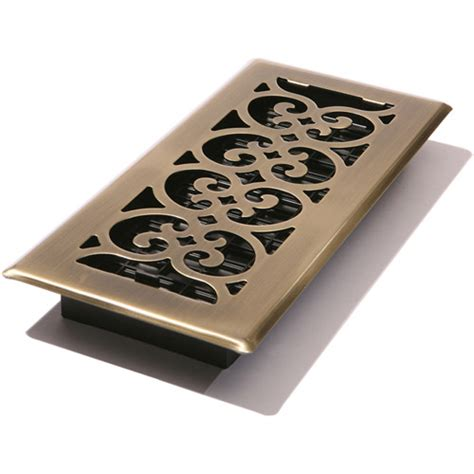 decor grates scroll floor register walmart com