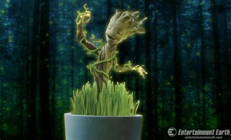 Gardenia Of The Galaxy Groot Is Growing Glowing And All Smiles In Your Garden
