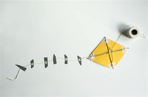 A Paper Kite - hello wonderful 10 ways to make a kite