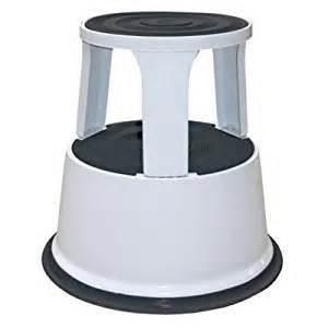 rolling kick step stool gry grey co uk kitchen home