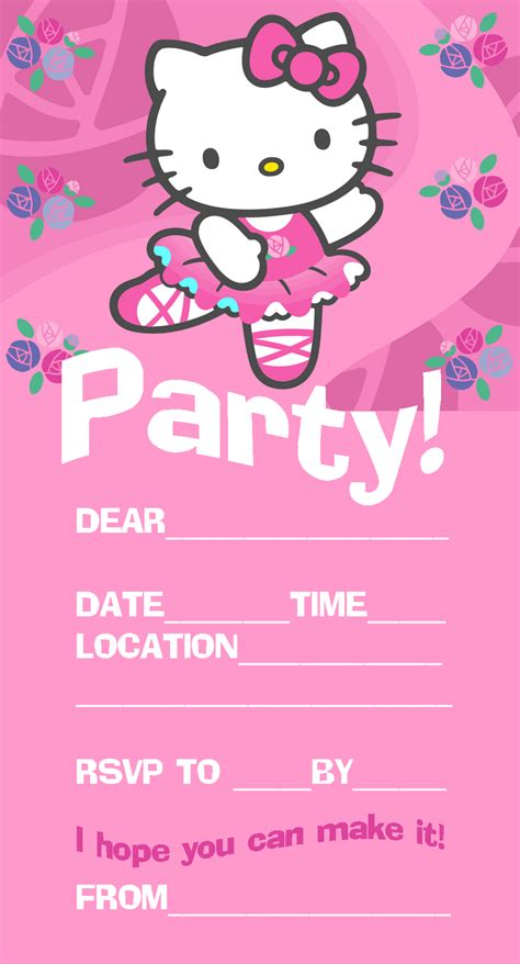 hello invitation template hello birthday invitation card template
