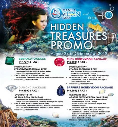 manila park and hotel h2o treasures promo