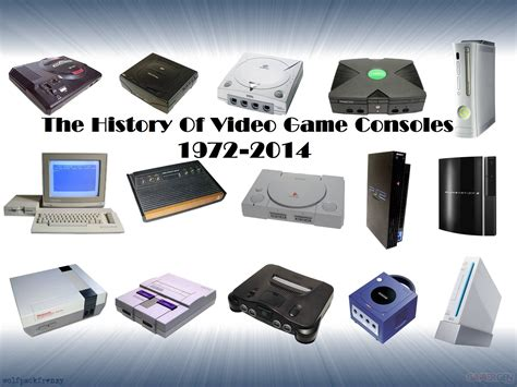 all console the history of consoles 1972 2014