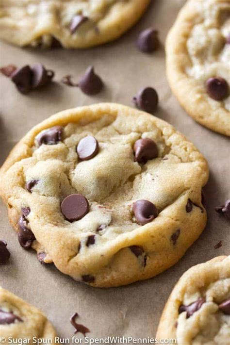 cookie recipe chocolate chip cookies spend with pennies