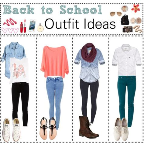 school outfit ideas  breaanne  polyvore