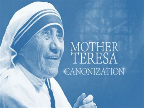 mother teresa biography for powerpoint ppt canonisation of mother teresa powerpoint
