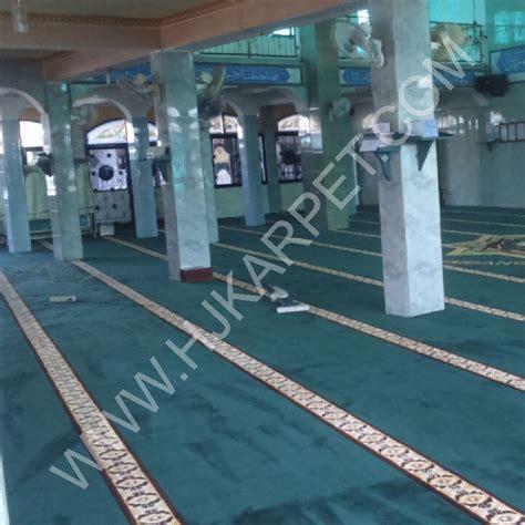 Karpet Palembang masjid besar al ikhlas sako kenten palembang hjkarpet