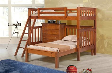 bunk beds ct oakland bunk with mission platform with chest innovations