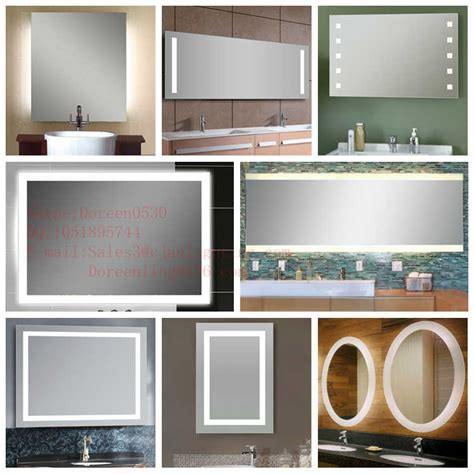 Custom Made Bathroom Mirrors Custom Made Led Lighted Bathroom Mirror With Ce And Etl Certificate Buy Bathroom Mirror