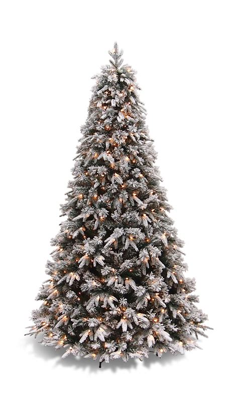 artificial christmas trees rochester ny flocked pine 7 5 artificial tree hom furniture