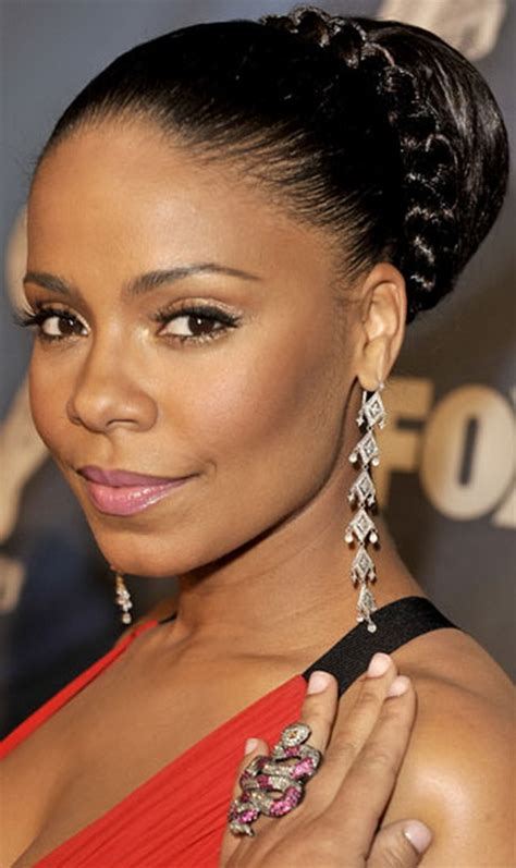 black hairstyles pictures buns black bun hairstyles