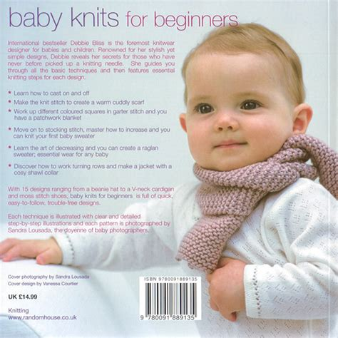 baby knits baby knits for beginners by debbie bliss