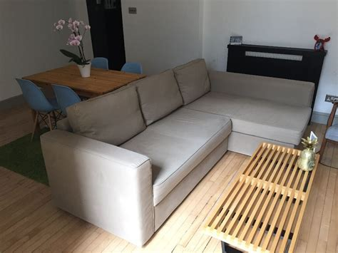 Ikea Sofa Bed Manstad by Corner Sofa Bed With Chaise And Storage Ikea