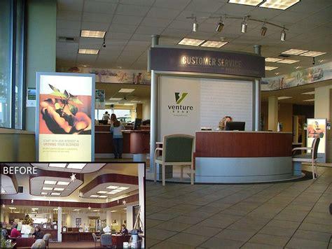 interior bank upgrade customer service kiosk ban