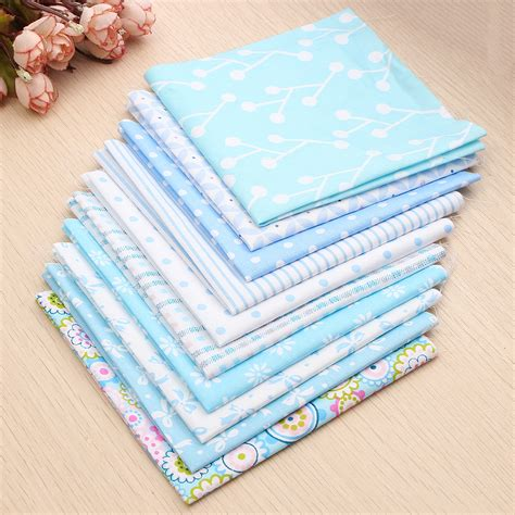 Patchwork Quilt Fabric Bundles - 10x mult size cotton fabric patchwork batiks mixed bundle