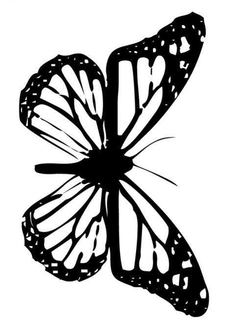 imagenes de mariposas monarcas para colorear dibujos para colorear mariposa monarca es hellokids com