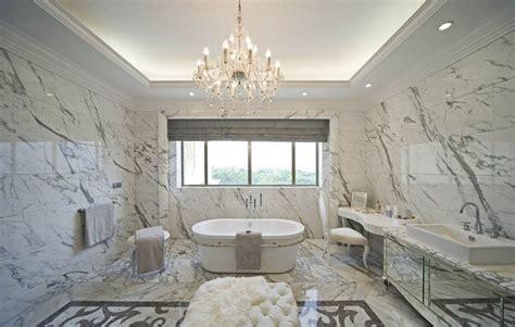 villa luxury bathroom interior design by european style