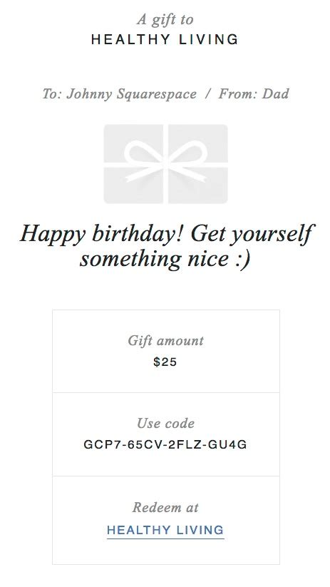 Get Squarespace Card Template Source Code by Selling Gift Cards Squarespace Help