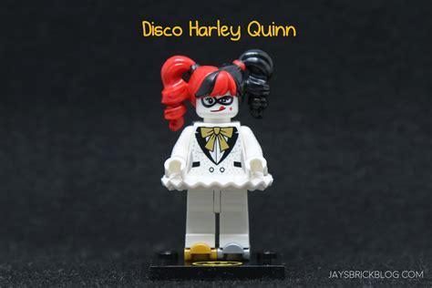 Disco Harley Quinn Lego Batman Series 2 Lego Minifigure Original review lego batman minifigures series 2