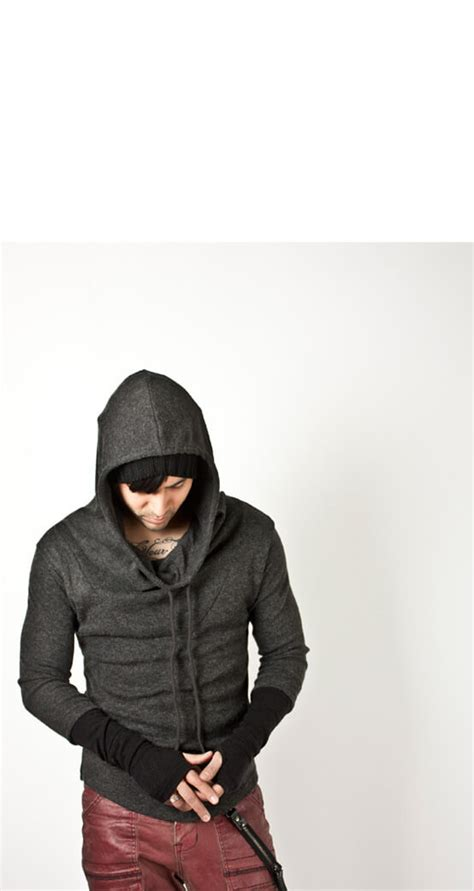 Turtle Neck Sweatshirt Green Black Size S M L newstylish mens s m jacket runway casual tops black arm warmer turtle hoodie ebay